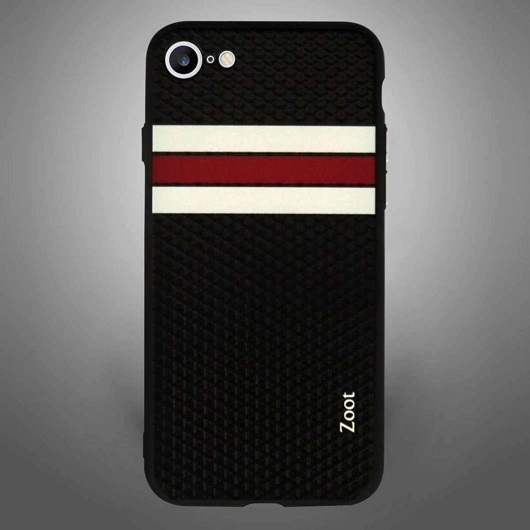 Sports Black with white red Stripes - Zoot Online- Mobile Case - Mobile Covers - online