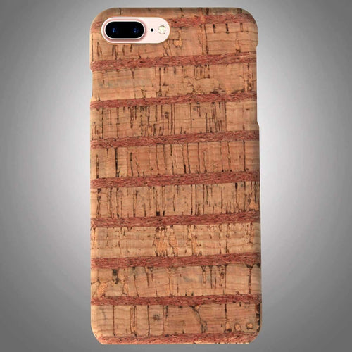 Wooden Back Cover with Vertical Stripes