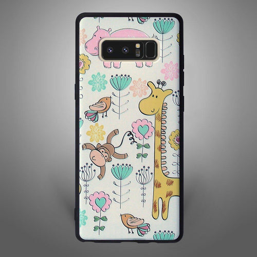 Animals Back Cover Giraffe and Monkey - Zoot Online- Mobile Case - Mobile Covers - online