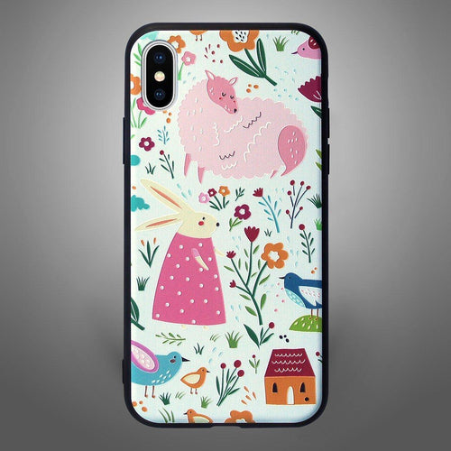 Animals Back Cover Rabbit and Sheep - Zoot Online- Mobile Case - Mobile Covers - online
