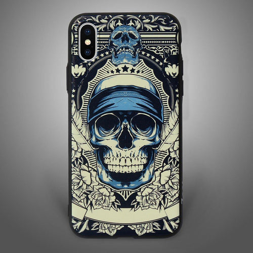 Bad Boys Blue Skull Back Cover - Zoot Online- Mobile Case - Mobile Covers - online