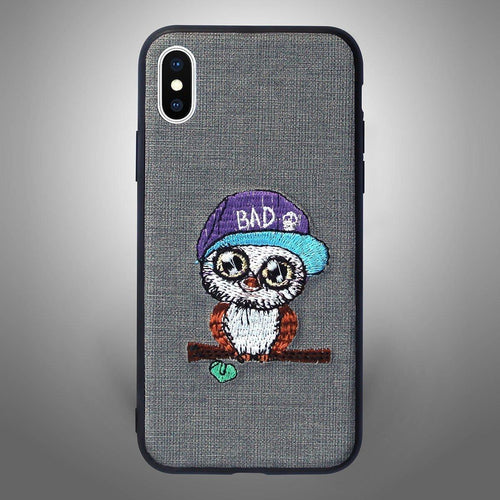 Bad Owl Grey - Zoot Online- Mobile Case - Mobile Covers - online