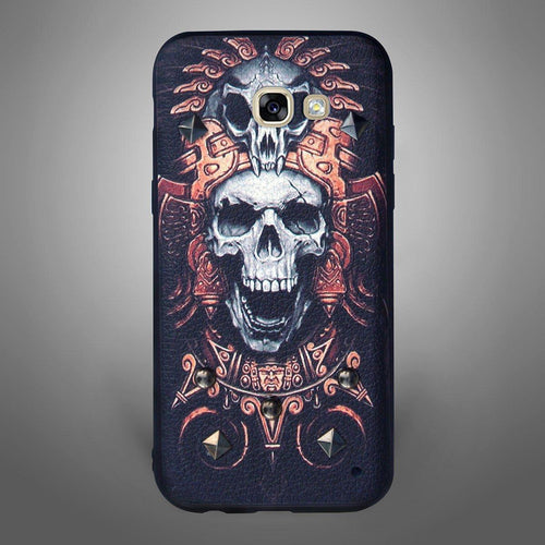 Diablo Skull Back Cover Black
