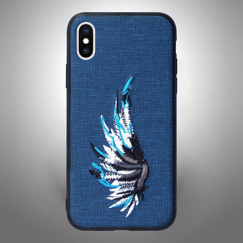 Feather Wings Blue