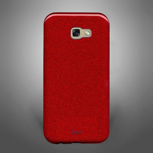 Glitter Back Cover Red