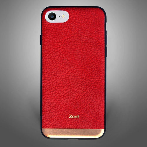 Gold Plate Hard Texture Red