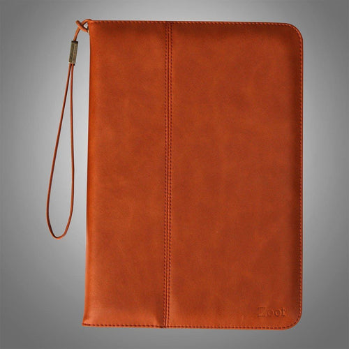 IPAD Leatherette Soft Flip Cover Orange