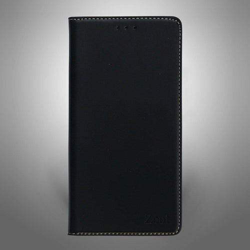Leatherette Flip Cover Black