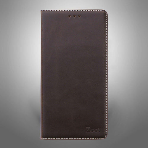 Leatherette Flip Cover Brown