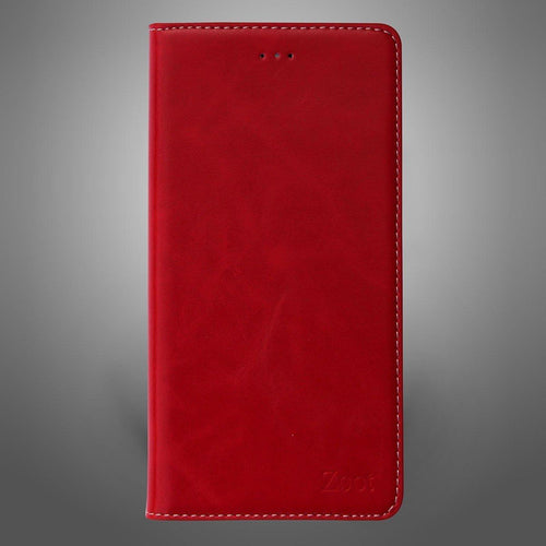 Leatherette Flip Cover Maroon