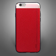 Leatherette with Hard Texture Red
