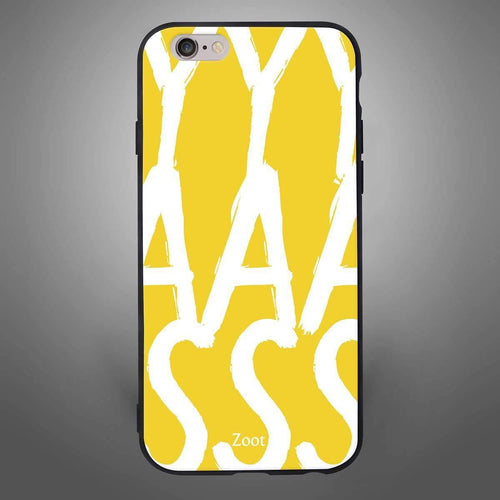 YAS Back Cover Yellow - Zoot Online- Mobile Case - Mobile Covers - online