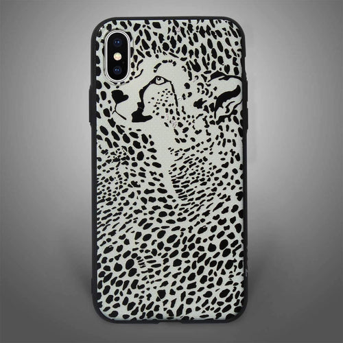 Textured Back Cover Cheetah