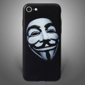 Vendetta Back Cover Black