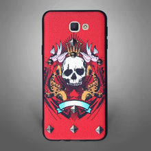 Skull Crown Back Cover Red