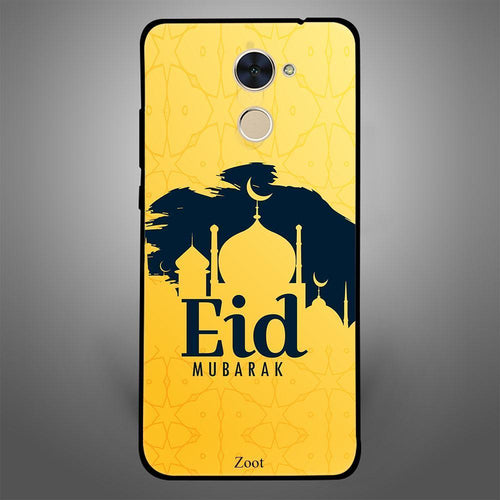 Eid Mubarak Black n Yellow