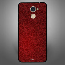 Red Floral Pattern