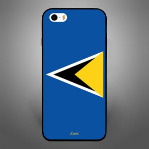 Saint Lucia Flag - Zoot Online- Mobile Case - Mobile Covers - online