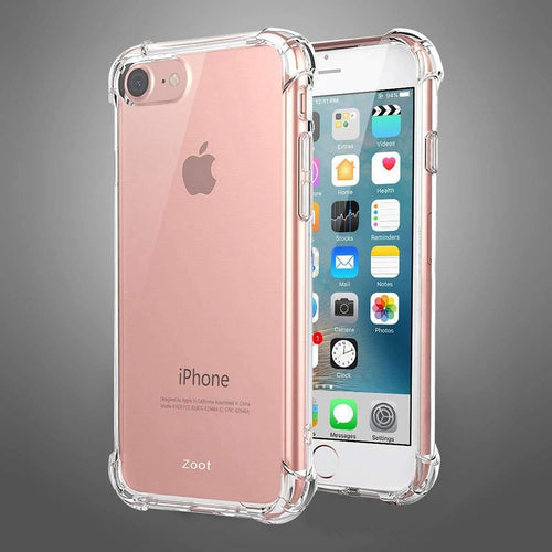 Transparent Clear White Bumper Case