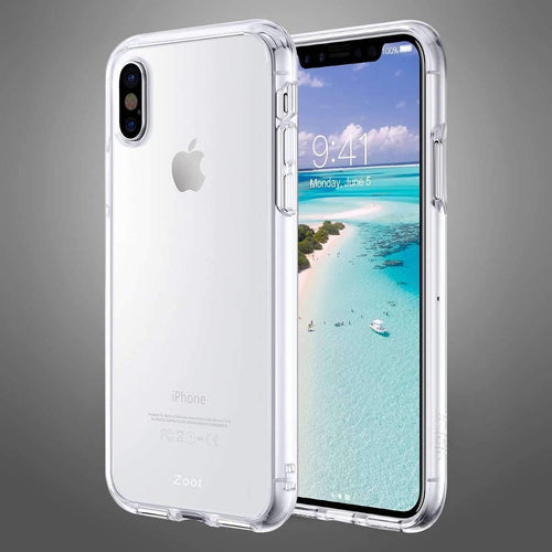 Transparent Clear Light Back cover