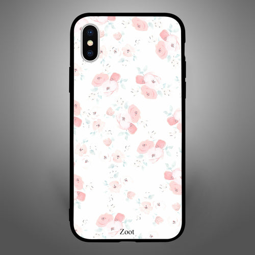 Pink White Floral pattern