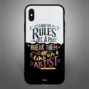 Learn The Rules Like A Pro Break Them Like An Artist