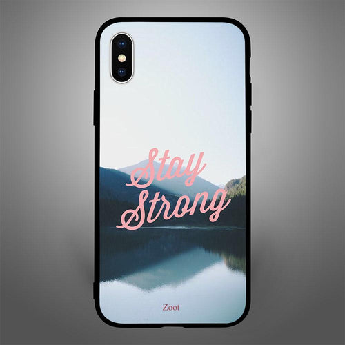 Stay Strong - Zoot Online- Mobile Case - Mobile Covers - online