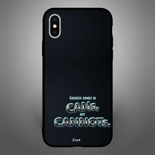 Success Comes In Cans,Not Cannots - Zoot Online- Mobile Case - Mobile Covers - online
