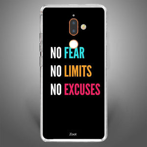 no Fear limits excuses