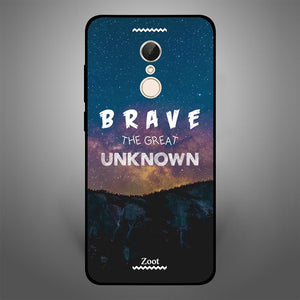 Brave The Great Unknown