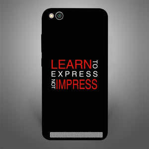 Learn to Express not Impress