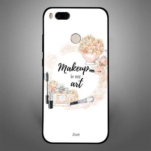 makeup is art - Zoot Online- Mobile Case - Mobile Covers - online