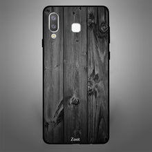 Black Wooden Pattern