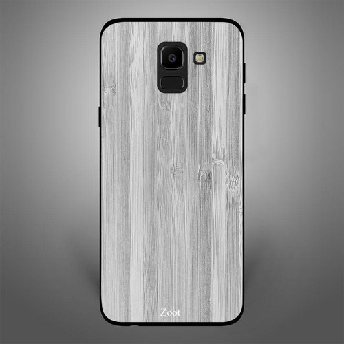 White Grey Plain Wood Pattern