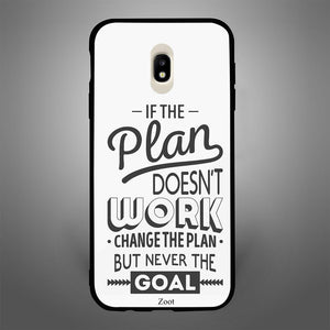 If The Plan Doesn'T Work Change The Plan But Never The Goal - Zoot Online- Mobile Case - Mobile Covers - online