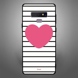 Pink Heart stripes