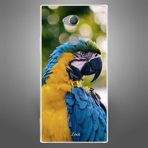 Yellow Blue Parrot