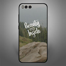 Beauty comes from inside
