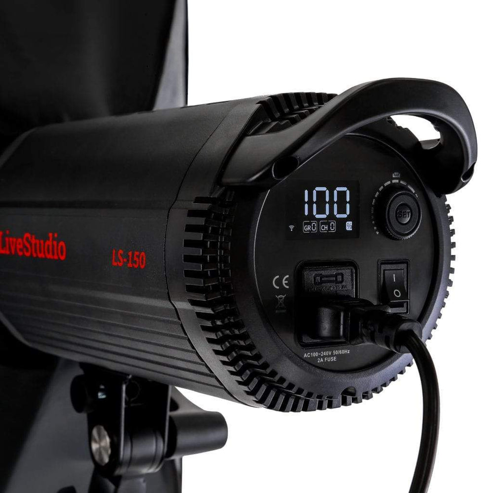 Live Studio product photography dimmable lighting system