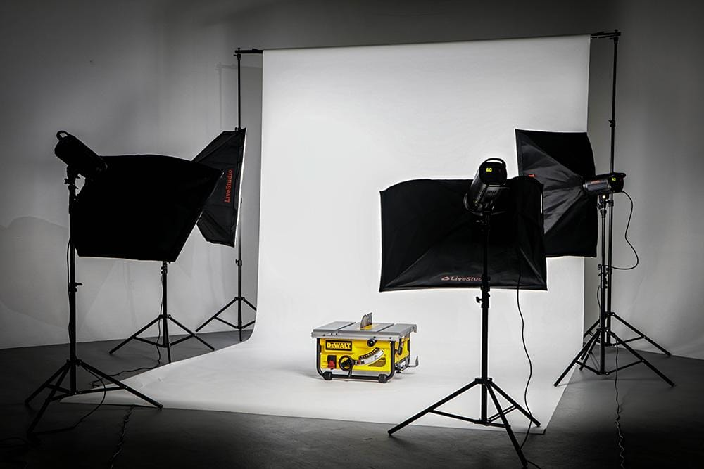 LiveStudio studio photography kit for products shootings