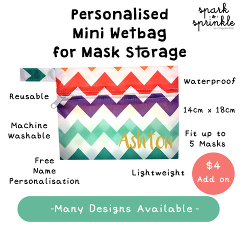 Reusable Mask (Grey Monogram) LIMITED EDITION