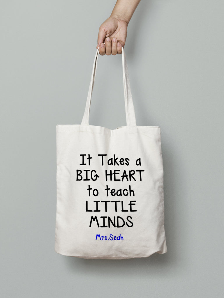 E10: Tote Bag - Big Heart Little Mind