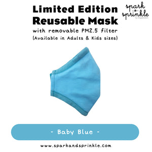 Alcan Care - Reusable Mask (Baby Blue)