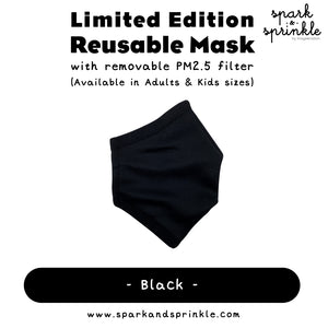 Alcan Care - Reusable Mask (Black)