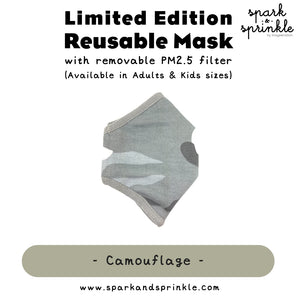 Alcan Care -  Reusable Mask (Camouflage)