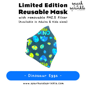 Alcan Care - Reusable Mask (Dinosaur Eggs) LIMITED EDITION