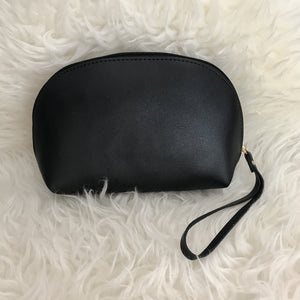 Leather Ellie Pouch (Black)