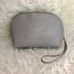 Leather Ellie Pouch (Grey)