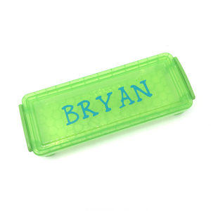Plastic Pencil Case - Green