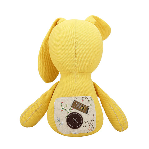 Cotton Bedtime Bunny (Yellow)